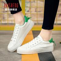2017春季新款女士休闲鞋潮流帆布鞋女软皮透气平底学生韩版板鞋子