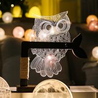 北欧装饰品工艺品创意礼品桌面摆设 发光创意生日礼物