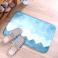 卫生间门口吸水地垫地毯脚垫门垫进门浴室厕所防滑垫子家用踩脚垫