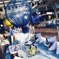 生日派对聚会装饰气球ins风软妹拍照道具北欧网红气球网纱8寸波波球婚礼生日派对宴会