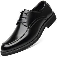 波图蕾斯皮鞋男新品商务休闲鞋英伦百搭舒适正装皮鞋男