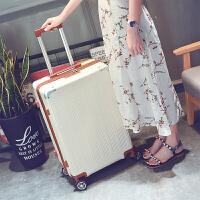 旅行箱行李箱密码箱拉杆箱万向轮男女24寸学生小清新登机箱包