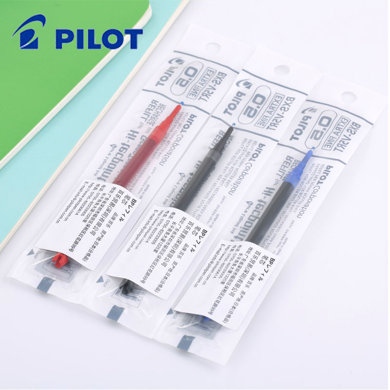 日本百乐BXS-V5RT针嘴式中性笔芯签字笔0.5MM可替换笔芯