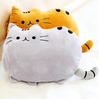 猫毛绒玩具搞怪暖手抱枕捂手枕毛绒猫公仔玩偶可爱布娃娃萌