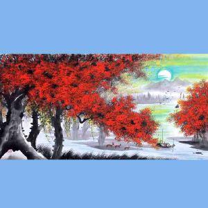 中国青年美术家协会常务理事,中国扇子艺术学会会员,中国山水画院专业画家,山东美术家协会会员,国家一级美术师高云鹏(红榕树)