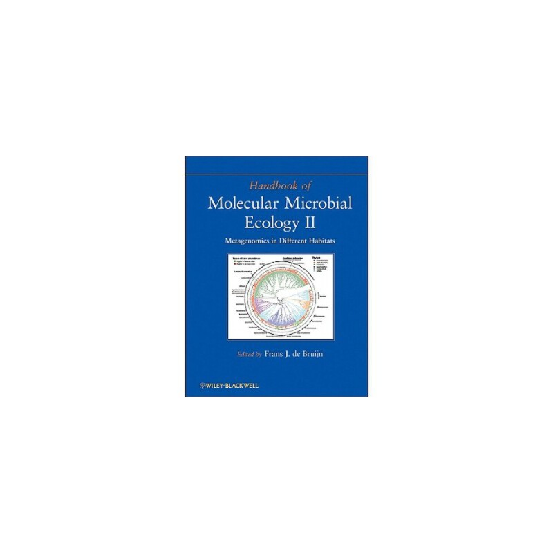 【预订】Handbook of Molecular Microbial Ecology II: Metagenomics in Different Habitats 美国库房发货,通常付款后3-5周到货!