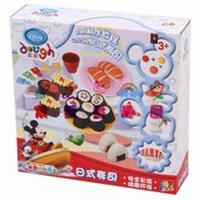 迪士尼米奇 妙妙屋日式寿司儿童彩泥套装早教益智DS-1667全新 .