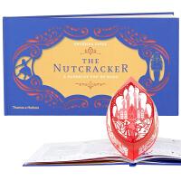 【现货】英文原版 胡桃夹子 剪纸立体书 The Nutcracker: A Papercut Pop-Up 艺术礼品书