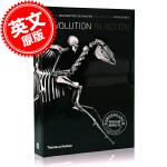 现货 演化 英文原版 Evolution in Action 脊椎动物骨骼演化图册 Jean-Baptiste de