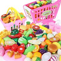 宝宝切水果蔬菜切切乐儿童玩具仿真套装组合 女孩男孩切西瓜玩具