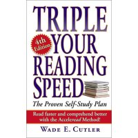 英文原版 Triple Your Reading Speed 提高你的阅读速度