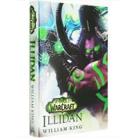 【现货】英文原版 Illidan:World of Warcraft 伊利丹怒风 魔兽世界小说 精装收藏版