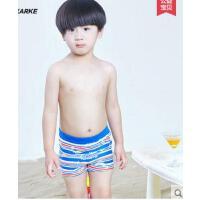 时尚条纹舒适平角男童游泳衣宝宝泳衣男孩分体泳装中大童泳衣儿童泳裤