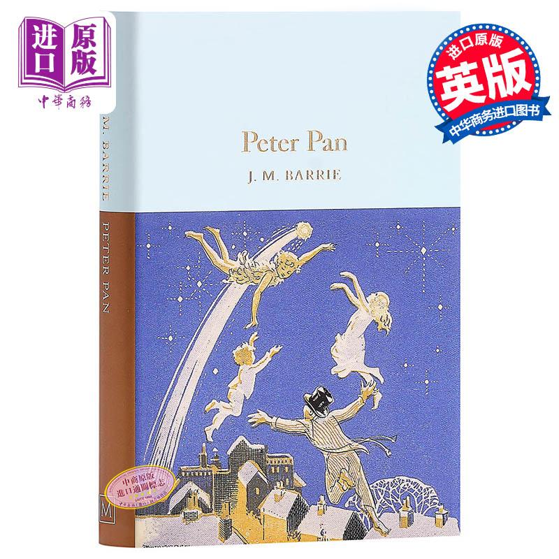 【中商原版】Collectors Library系列:彼得潘 英文原版 Peter Pan J. M. Barrie Macmillan Collector's Library