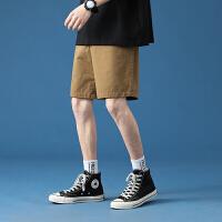 纯色男士短裤夏季薄款商务休闲五分裤纯棉百搭
