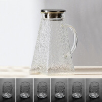 【家装节 夏季狂欢】冷水壶玻璃耐高温家用茶壶套装大容量凉水杯防爆加厚白开