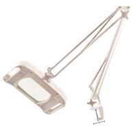 高倍台式放大镜带LED灯10倍高清老人阅读美容修表手机维修台灯100镜片微雕刻焊接检验工作台1000
