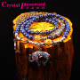 水晶密码CrystalPassWord原创天然阿富汗青金石泰国小象手链SJMM3-043