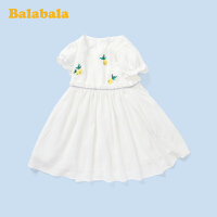 巴拉巴拉儿童连衣裙夏季2020新款女童公主裙小童宝宝裙子雪纺裙女