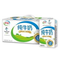 伊利无菌砖纯牛奶 250ml*16盒/箱 5月份