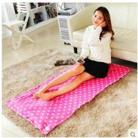 简约波点精致耐用办公室加热暖脚插电细腻柔软舒适多用途电热暖身毯护膝毯坐垫