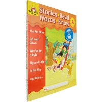 Stories to Read,Words to Know Level A 英文原版 美国加州教材 Evan Moor