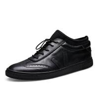 DAZED CONFUSED春季百搭男士皮鞋英伦休闲鞋商务男鞋青年系带板鞋潮鞋子小皮鞋