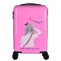儿童行李箱可爱行李箱ins网红旅行箱少女小型18/20寸轻便卡通儿童可爱个性拉杆箱