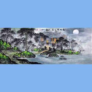 中国青年美术家协会常务理事,中国扇子艺术学会会员,中国山水画院专业画家,国家一级美术师高云鹏(福地福人居2)