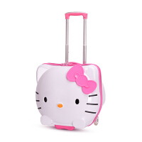 儿童拉杆箱女旅行箱公主卡通可爱19寸学生小孩皮箱女童宝宝行李箱 粉 19寸