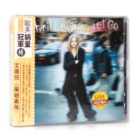 正版 艾薇��]� Avril Lavigne: 展翅高�w Let Go (CD)附歌�~本