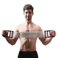 JUFIT居康 弹簧拉力器扩胸器多功能臂力胸肌体育锻炼健身器家用JFF004AB