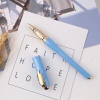 毕加索 PS-986女士钢笔 珍珠蓝 笔杆 笔尖0.38mm 艾琳系列 生日礼物 成人商务办公用学生练字书法墨水笔 礼