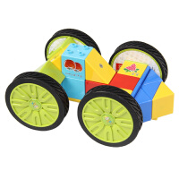 儿童积木玩具益智磁性拼插1-6岁宝宝diy磁力片构建块