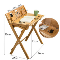 折叠学习桌椅写字桌多功能简约书桌椅套装家用桌子