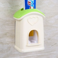 抖音牙刷架全自动挤牙膏器套装壁挂式牙刷架创意懒人抖音牙膏挤压神器
