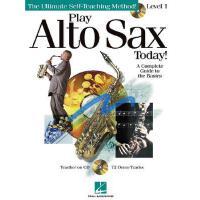 【预订】Play Alto Sax Today!, Level 1 [With CD (Audio)]