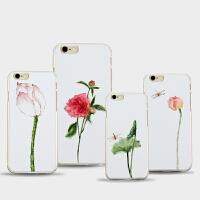 【包邮】特价 Iphone 5/6/7 plus原创艺术 绘画 国画 PC材质 耐磨不变黄 文艺 艺术衍生品 手机壳iphone 6/6S iphone 6/6S plus