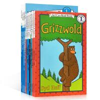 进口英文原版正版 I Can Read Level 1 系列汪培�E书单第一阶段12本全套装英文原版图画故事童书低幼儿启