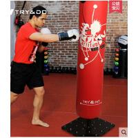 家用训练沙包专业皮质实心吸盘沙包 拳击沙袋成人健身