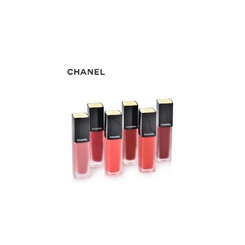Chanel/香奈儿丝绒唇釉雾面短管唇釉 146号 亮粉色 夏季护肤 防晒补水保湿 可支持礼品卡