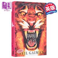 【中商原版】尼尔盖曼 蜘蛛男孩 Anansi Boys 英文原版 Neil Gaiman 豆瓣推荐