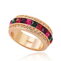复古戒指女时尚日韩潮人食指指环手饰品仿水晶个性欧美夸张装饰品