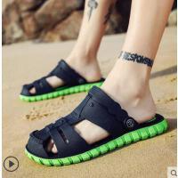 洞洞鞋男士拖鞋男潮流韩版网红时尚凉鞋户外新品新款凉拖个性沙滩鞋男拖鞋