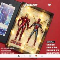 中动 复仇者联盟4漫威钢铁侠手办蜘蛛侠玩具美国队长模型周边