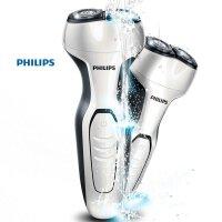 飞利浦(PHILIPS) 电动剃须刀 S300/02 双刀头刮胡刀 充电式全身水洗