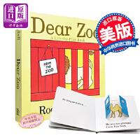 【中商原版】英文原版 Dear Zoo 亲爱的动物园 纸板书 幼儿英文绘本0-3岁 儿童宝宝 机关翻翻书 吴敏兰书单