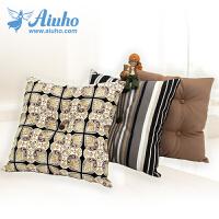 【领劵立劵100】爱优活 三件套沙发抱枕靠垫含芯 印花床头靠枕靠垫 55X55cm大号