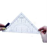 德国进口施德楼 568 特种几何三角板 绘图等腰三角尺 16CM 带手柄