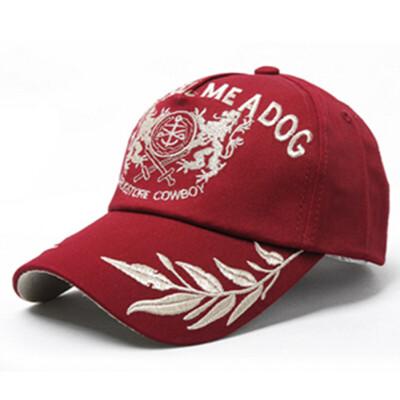 夏天刺绣遮阳棒球帽 女户外运动防晒男女士鸭舌帽子